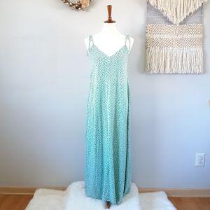 Ava Sky | Native Print Maxi Dress